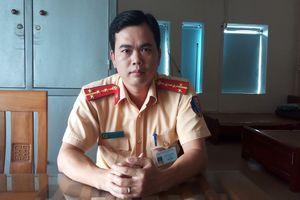 Đại úy CSGT cởi áo cầm máu cho người dân trần tình lại sự việc
