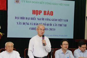 Hơn 400 đại biểu tham dự Đại hội đại biểu Người Công giáo Việt Nam
