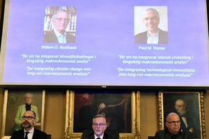 Nobel Kinh tế 2018 hướng đến phát triển bền vững và chống biến đổi khí hậu