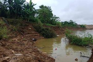 Phù Ninh (Phú Thọ): Sạt lở nghiêm trọng do nạn 'cát tặc'