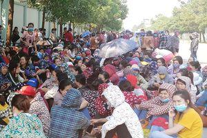 Thanh Hóa: Sau đình công, hàng nghìn công nhân đã đi làm trở lại