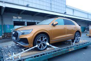 Audi Q8 'cập bến' Sài Gòn, sẵn sàng ra mắt khách hàng Việt