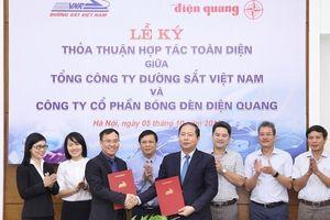 Tổng công ty Đường sắt Việt Nam hợp tác chiến lược với Điện Quang