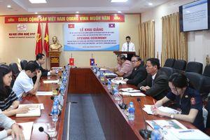 Trường ĐH Công nghệ GTVT đào tạo bồi dưỡng nghiệp vụ kiểm định chất lượng công trình giao thông cho cán bộ Bộ Công chính và Vận tải Lào
