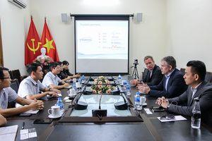 Chủ tịch lĩnh vực hàng hải của Tập Đoàn Marlink đến thăm và làm việc tại VISHIPEL