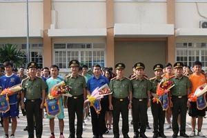 Khai mạc Giải bóng đá và giao lưu văn hóa Bộ Tư lệnh Cảnh vệ