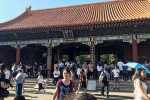 Hơn 700 triệu người Trung Quốc đi du lịch trong dịp Quốc khánh
