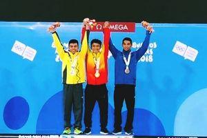 Ngô Sơn Đỉnh giành HCV cử tạ tại Olympic trẻ 2018