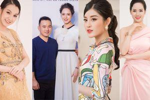 Hoa hậu Thùy Lâm, Hoa hậu Mai Phương tái xuất cùng dàn người đẹp tại sự kiện khai trương của NTK Lê Thanh Hòa