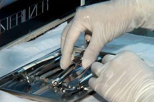 Thiết bị tạo dung dịch ECA sát khuẩn dụng cụ y tế