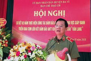An ninh trật tự khu vực cầu Văn Lang được đảm bảo