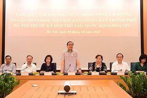 Hà Nội kiến nghị tháo gỡ chính sách đối với hàng loạt vấn đề 'nóng'