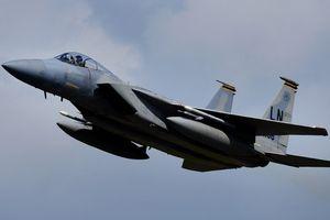 Mỹ lần đầu điều F-15 đến Ukraine diễn tập