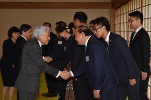 Thủ tướng cùng lãnh đạo các nước Mekong yết kiến Nhà vua Nhật Bản