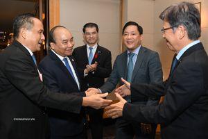 Thủ tướng dự một số cuộc tọa đàm với DN Nhật Bản