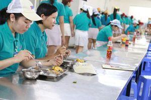 Cần quy định vấn đề bữa ăn giữa ca vào Bộ Luật Lao động (sửa đổi)