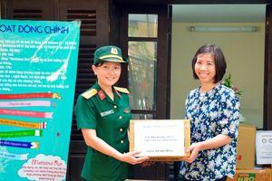 Hội Phụ nữ cơ sở Báo Quân đội nhân dân ủng hộ chương trình Mottainai 2018