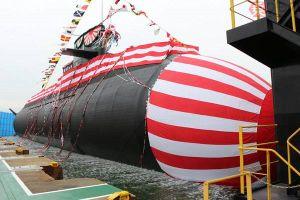 Lần đầu tiên trên thế giới: Nhật Bản hạ thủy tàu ngầm sử dụng pin Lithium-ion