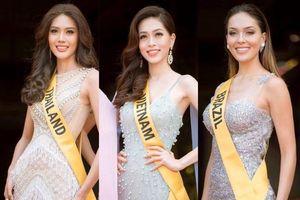 Lộ diện những nhan sắc nổi bật của Hoa hậu Hòa bình Thế giới