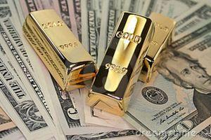 Giá vàng thế giới giảm sâu, giá USD tăng
