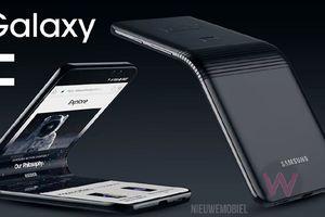 Thông số cấu hình điện thoại gập đôi giá nghìn USD Galaxy F