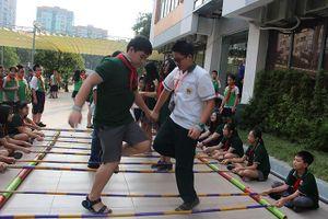 Học sinh Kiều bào Đài Loan giao lưu với học sinh Thủ đô