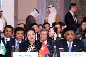 Chủ tịch Quốc hội dự Lễ khai mạc Hội nghị Chủ tịch Quốc hội các nước Á Âu lần thứ 3