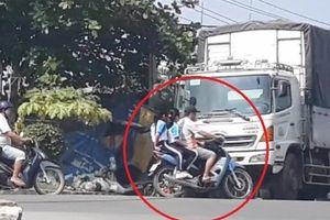 Cùng phóng viên báo Người Đưa Tin 'soi' vi phạm giao thông trên quốc lộ