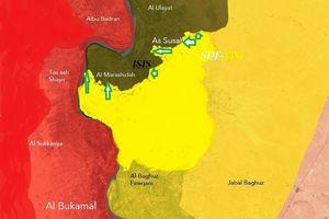 SDF tấn công 1 thị trấn, diệt gần 30 tay súng IS ở Deir Ezzor
