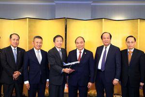 Thủ tướng Nguyễn Xuân Phúc tiếp lãnh đạo Tập đoàn ANA Holdings