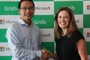 Grab và Microsoft hợp tác chiến lược sử dụng đám mây điện toán