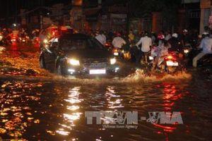 Đề phòng triều cường gây ngập lụt sâu các vùng trũng thấp tại TPHCM