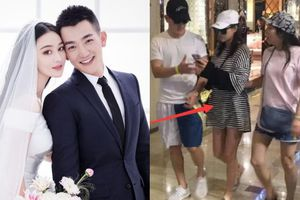 Trương Hinh Dư lộ vòng 2 to bất thường, làm dấy lên nghi vấn cưới 'chạy bầu' sau 1 tháng kết hôn?