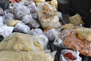 Thu giữ 83kg ruốc không bảo đảm vệ sinh an toàn thực phẩm