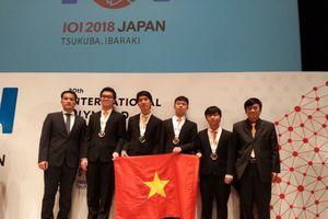 Việt Nam đạt 38 giải thi học sinh giỏi Olympic khu vực và quốc tế