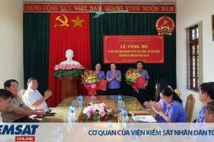 Lạng Sơn: Bổ nhiệm Viện trưởng, Phó Viện trưởng VKSND huyện Cao Lộc, huyện Đình Lập