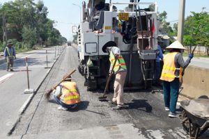 CIENCO5 phản hồi tình trạng quốc lộ 1A ở Quảng Nam bị trồi, lún nghiêm trọng