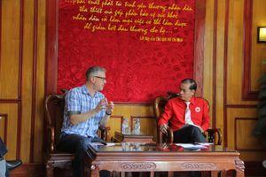 Hội Chữ thập đỏ Việt Nam làm việc với tổ chức Winrork International