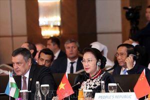 Chủ tịch Quốc hội Nguyễn Thị Kim Ngân dự và phát biểu tại phiên toàn thể Hội nghị mseap 3