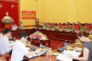 Bộ Công an họp Ban Soạn thảo, Tổ Biên tập xây dựng các văn bản hướng dẫn thi hành Luật An ninh mạng