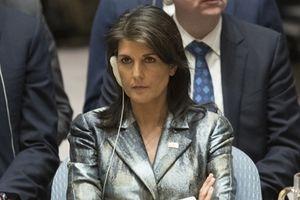 Đại sứ Mỹ tại Liên Hợp Quốc Nikki Haley đột ngột từ chức