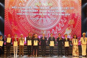 Hà Nội vinh danh Công dân ưu tú và doanh nghiệp tiêu biểu năm 2018