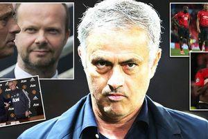 Jose Mourinho sợ hãi và sự tụt hậu của Man Utd