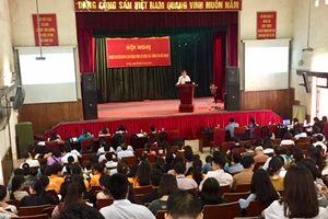 Gần 1.000 cán bộ, giảng viên, sinh viên được tuyên truyền về công tác thông tin đối ngoại