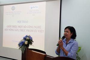 [Trực tiếp] Hội thảo giới thiệu 4 công nghệ sấy tiên tiến phục vụ chế biến nông sản chất lượng cao