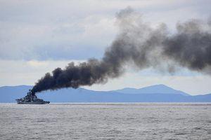 Khu trục hạm Sovremenny Trung Quốc sau nâng cấp vẫn khó thoát cảnh phun khói mù mịt