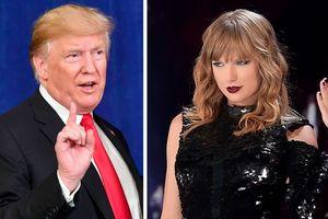 Tổng thống Trump vui vẻ nghe 'Blank Space' của Taylor Swift khi lái xe