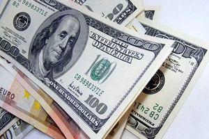 Tỷ giá trung tâm giảm, ngân hàng vẫn giữ giá mua –bán USD ở mức sát trần