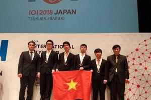 Các đoàn học sinh Việt Nam đã đoạt 38 huy chương khu vực và quốc tế