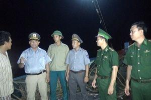 Quảng Bình: Xử lý 2 tàu giã cào vi phạm